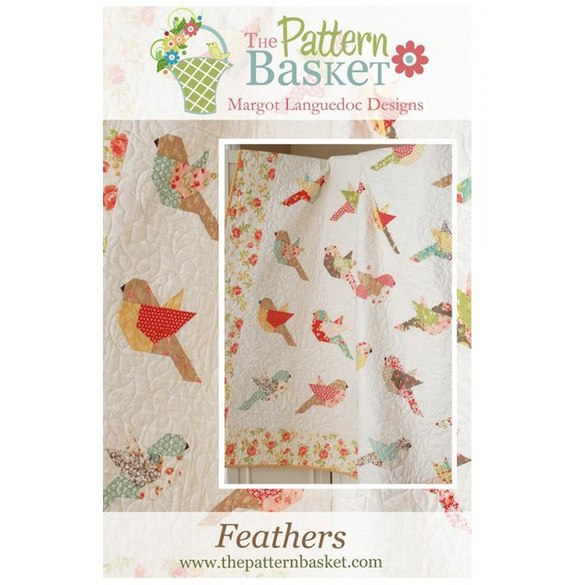 The Pattern Basket, Feathers Quilt Pattern