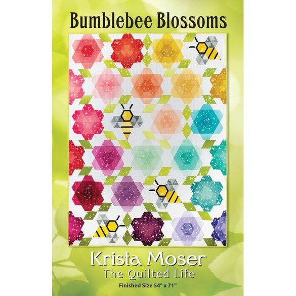 Bumblebee Blossoms Quilt Pattern
