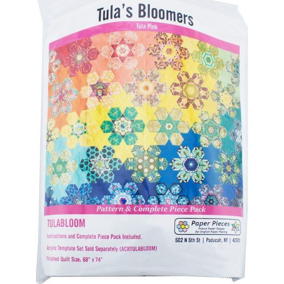Tula's Bloomers Pattern Complete with Paper Piece Pack