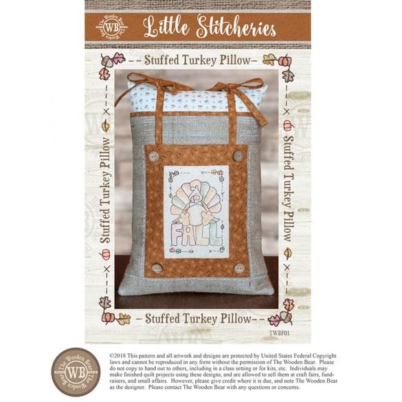 Little Stitcheries, Stuffed Turkey Pillow Pattern