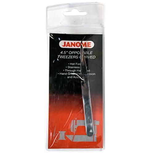 4-1/2in Angled Tweezers - Janome