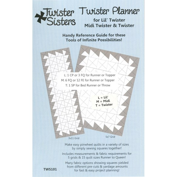 Twister Planner Handy Reference Guide, Twister Sisters