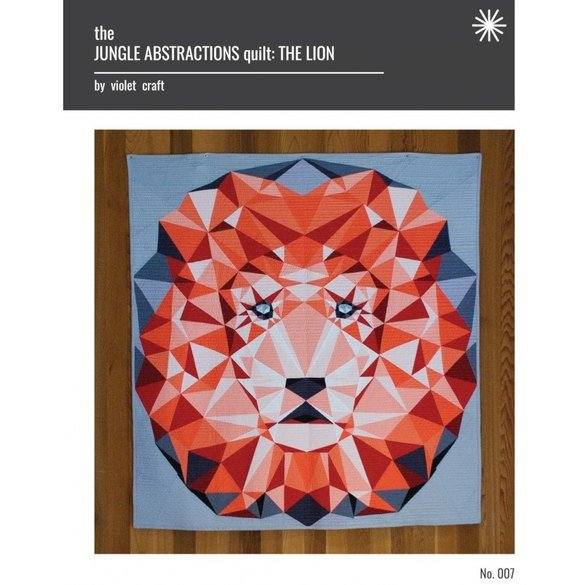 Jungle Abstractions: The Lion Quilt Pattern