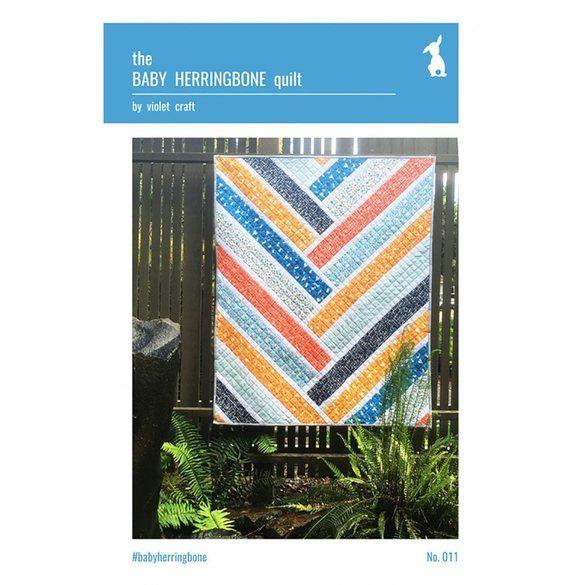 Baby Herringbone Quilt Pattern