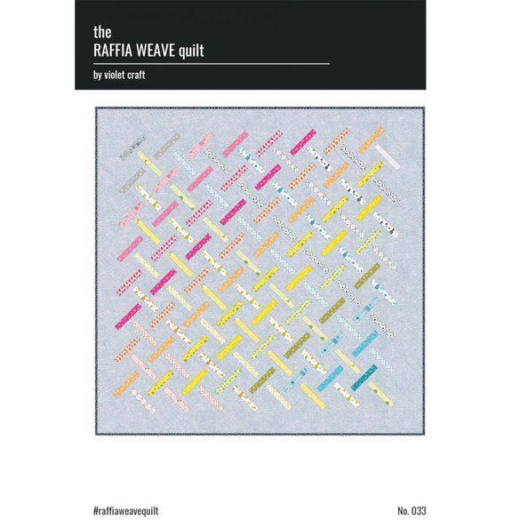 The Raffia Weave Quilt Pattern