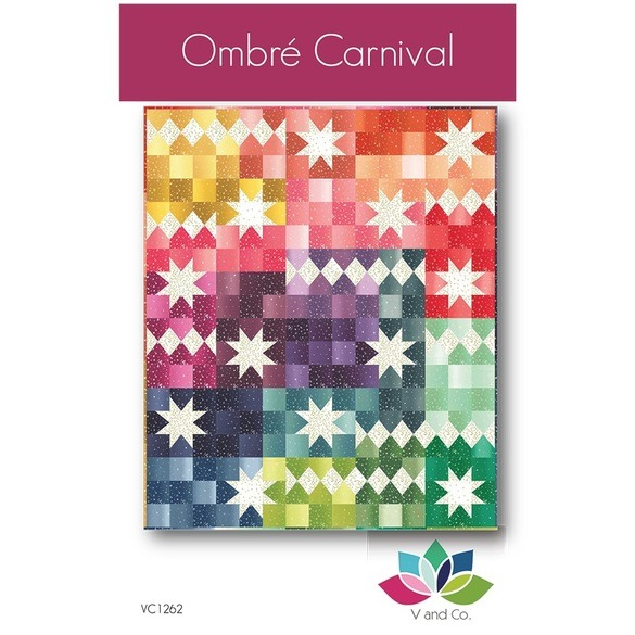 Ombre Carnival Quilt Pattern