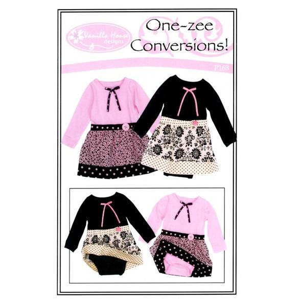 One-Zee Conversions Pattern - 6-24 Months