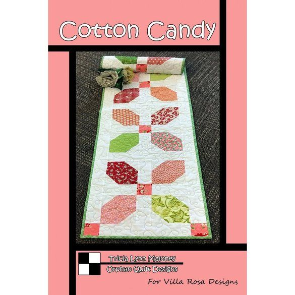 Cotton Candy Table Runner Pattern