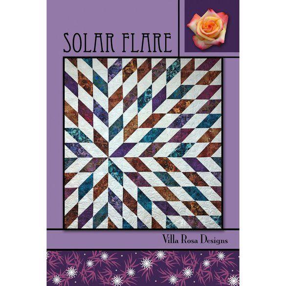 Solar Flare Quilt Pattern
