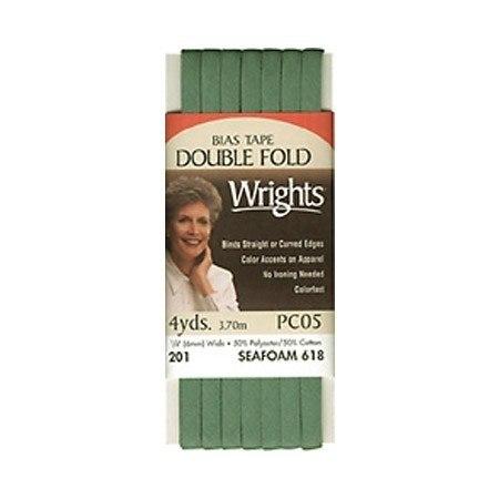 Bias Tape, Double Fold, Wrights #W201-