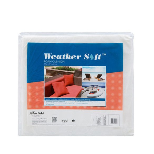 "Weather-Soft Cushions 4pk - 17"" x 19"" x  2.5"""
