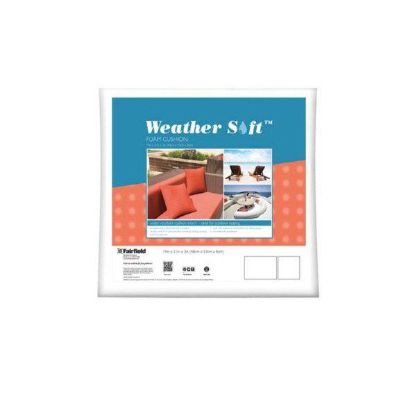 "Weather-Soft Cushions 4pk - 19"" x 21"" x  3"""
