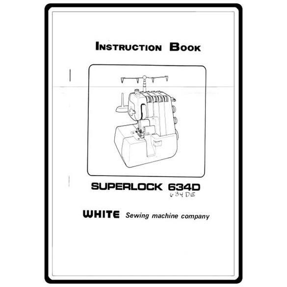 Instruction Manual, Singer WSL1900