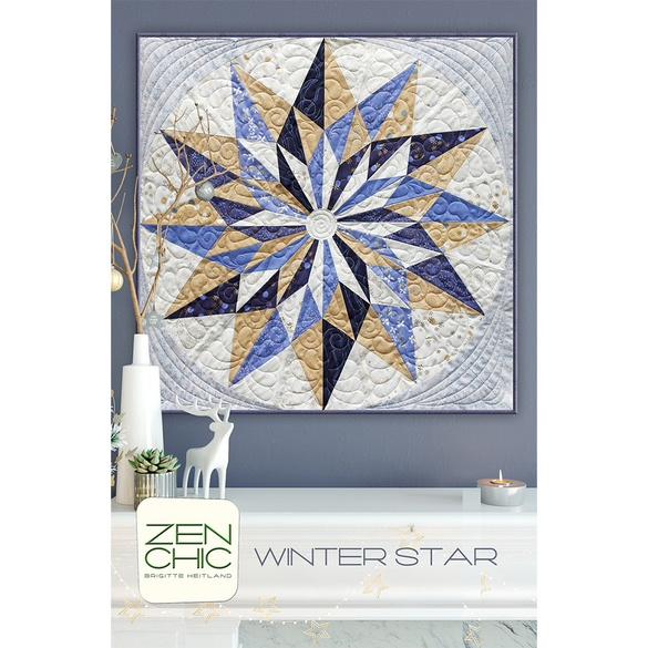 Winter Star Wall Hanging Pattern