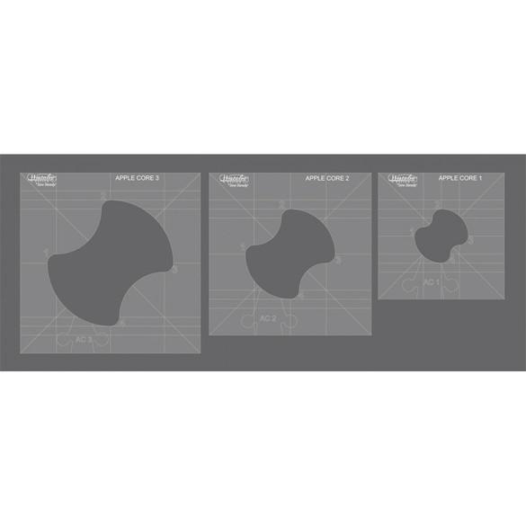 Westalee Apple Core Template Set (3pk)