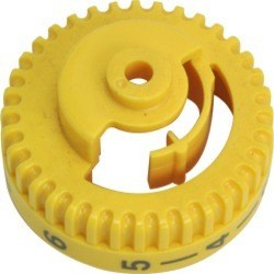 Yellow Tension Dial, Brother #XB0898-001