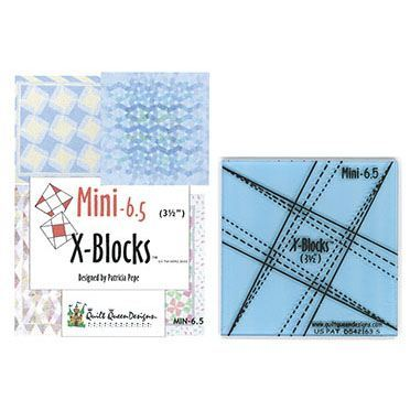 Mini-6.5 X-Blocks Tool, Quilt Queen Designs #XBM65