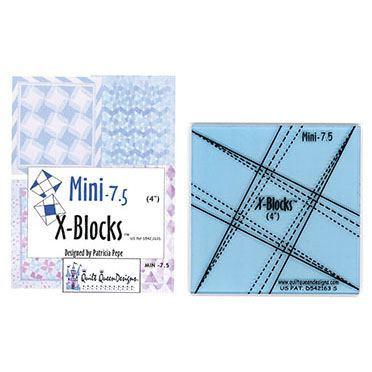Mini-7.5 X-Blocks Tool, Quilt Queen Designs #XBM75
