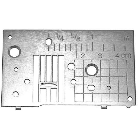 Needle Plate (A) Assembly, Babylock, Brother #XE0764001