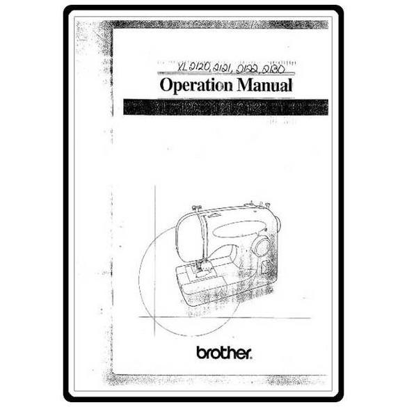 Instruction Manual, Brother XL-2120