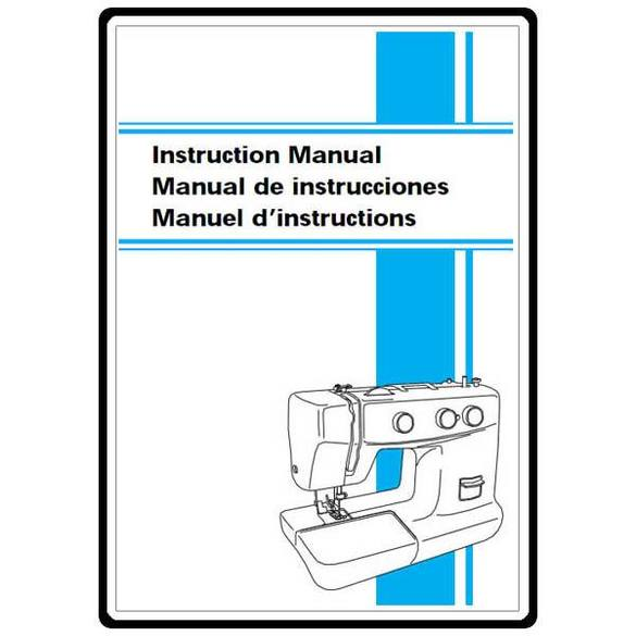 Instruction Manual, Brother XL-5232