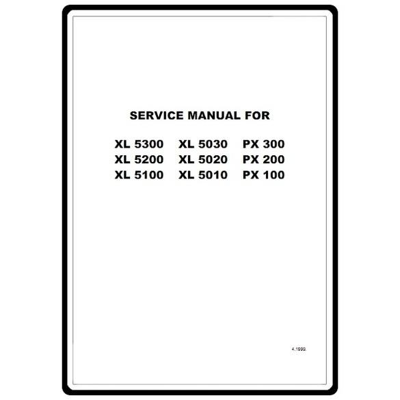 Service Manual, Brother XL5300