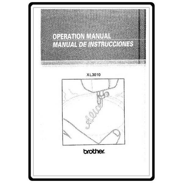 Instruction Manual, Brother XR-33