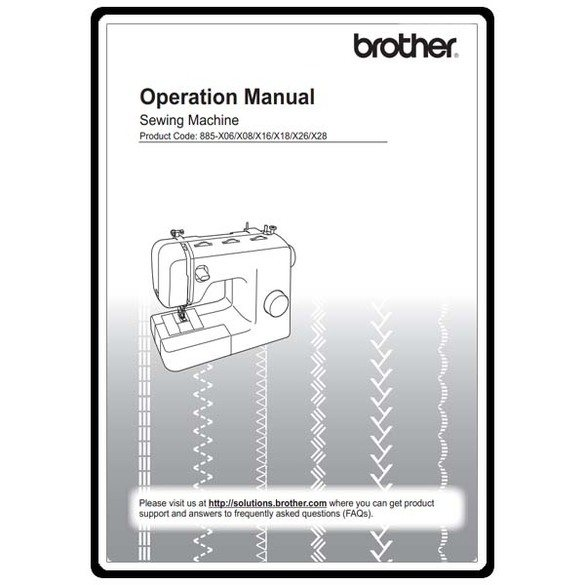 Instruction Manual, Brother XR-6060
