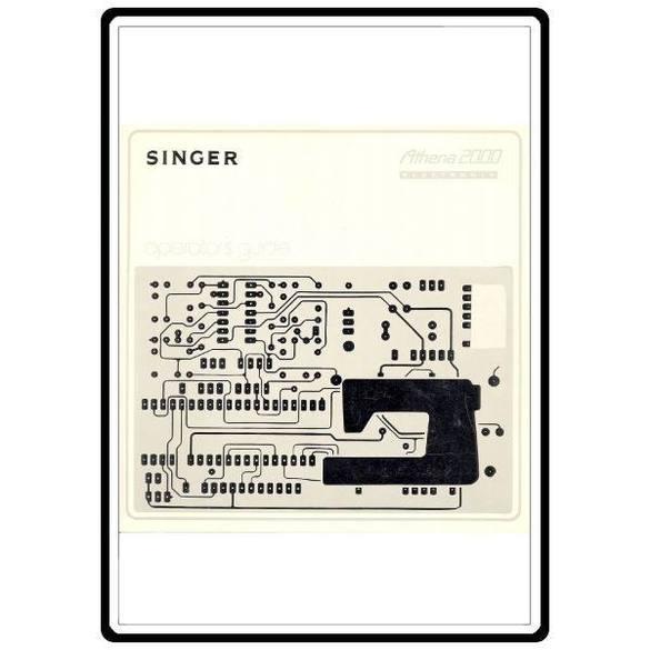 Instruction Manual, Singer Athena 2000