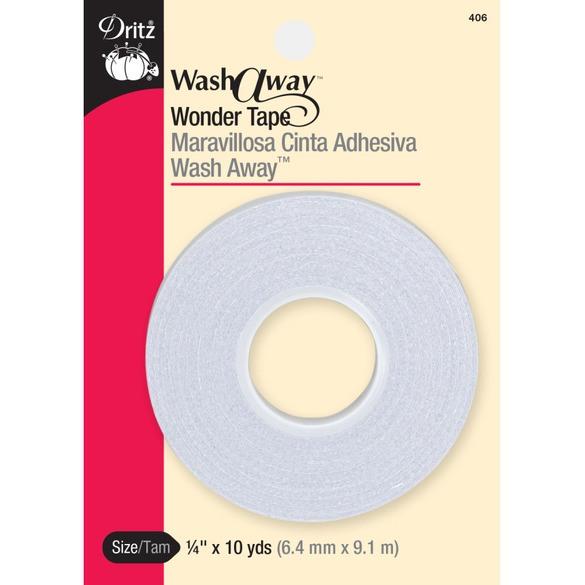 Wash-A-Way Wonder Tape, Dritz #W-7