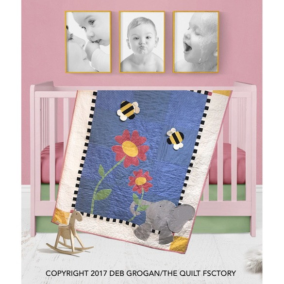 Eloise Elephant Quilt Pattern