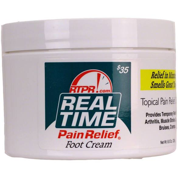 Pain Relief Foot Cream, Real Time Pain Relief