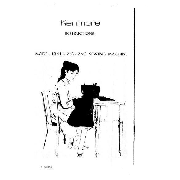 Instruction Manual, Kenmore 158.13412