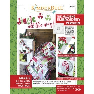 Jingle all the Way! Pattern Book and Embroidery CD
