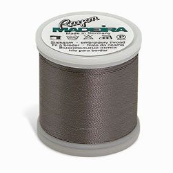 1118 Madeira Rayon Embroidery Thread 1100yd Spool GRAY Color