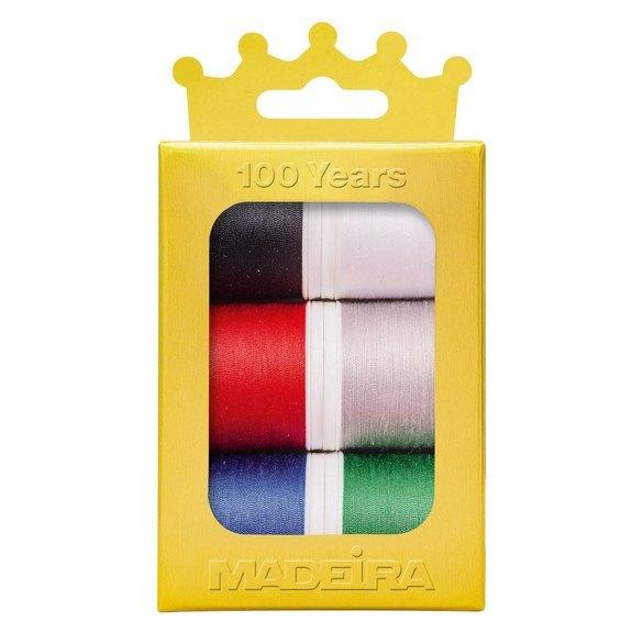 Madeira Anniversary Crown Thread Box (6pk) - Aerofil