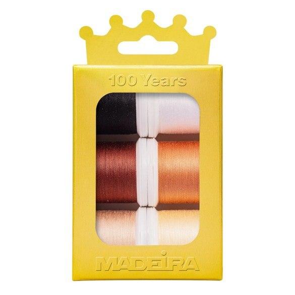 Madeira Anniversary Crown Thread Box (6pk) - Cotona