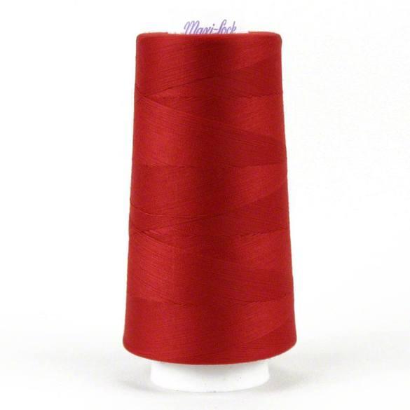 Maxi Lock Serger Thread - Poppy Red (3,000yds)