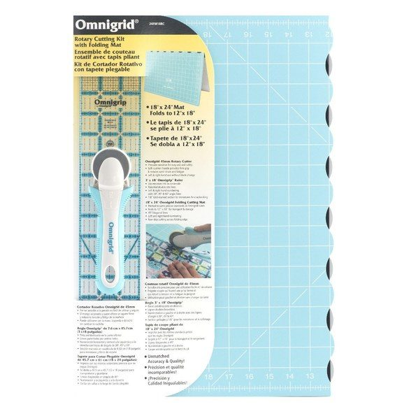 Omnigrid Compact Rotary Cutting Kit - 18in x 24in
