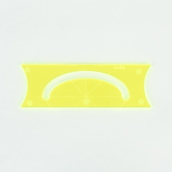 Parrs Free Motion 5mm Large Oval Ruler