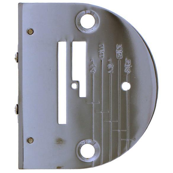 Needle Plate w/ Markings, Singer #PFW-45941