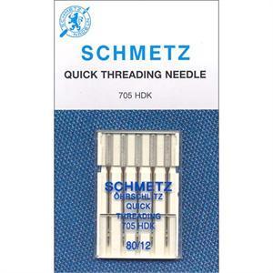 Self Threading Needles, Schmetz (5 Pack)