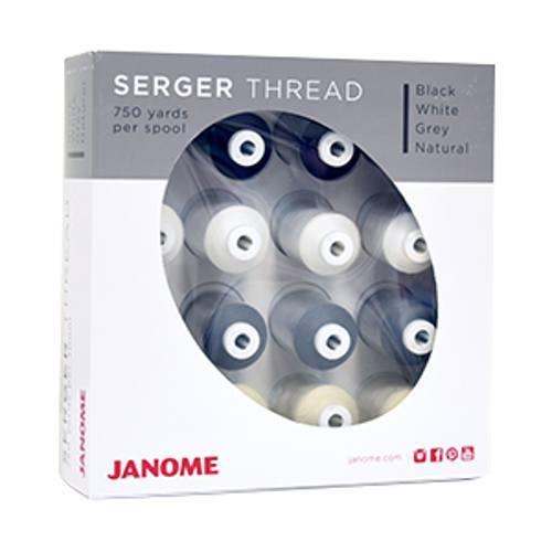 Serger Thread Kit - 16pk - Janome