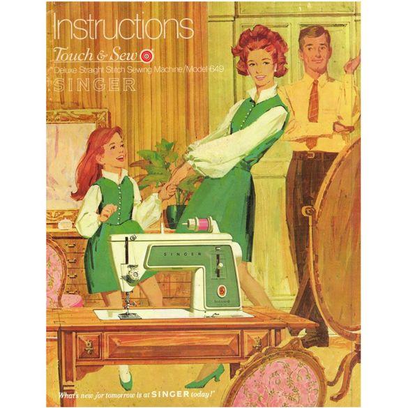Instruction Manual, Singer 649
