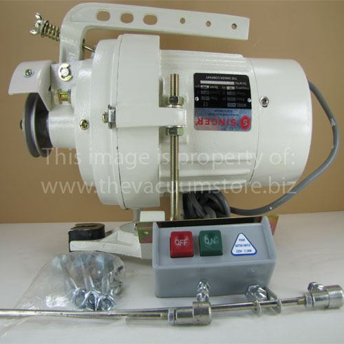 Motor, Singer Commercial 1/2HP, 110V, 2 Poles #R31221