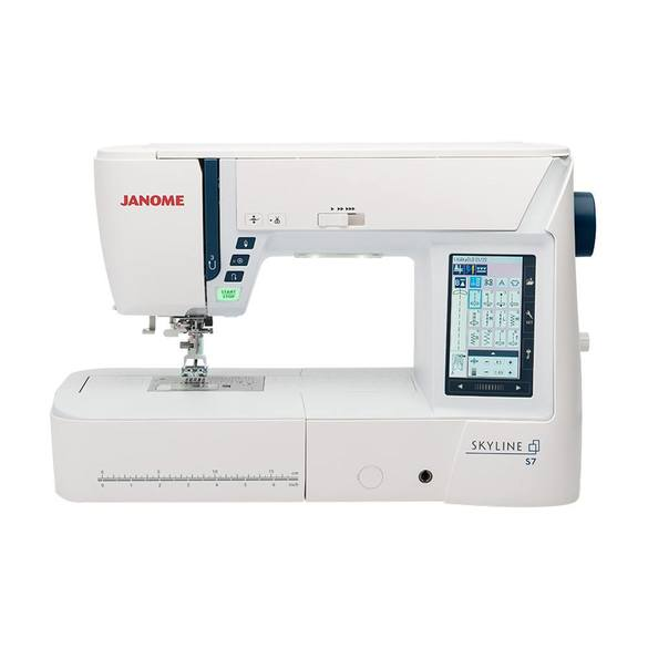 Janome Skyline S7 Sewing and Quilting Machine