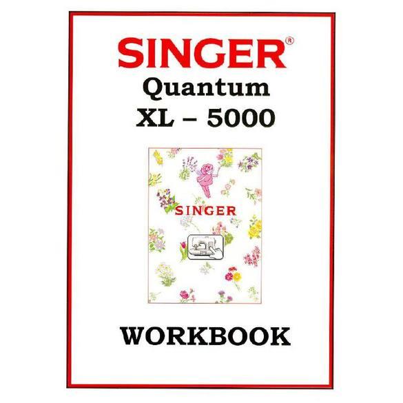 Instruction Manual, Singer XL-5000 ORIGINAL