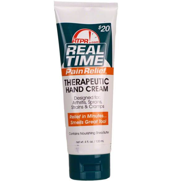 4oz Therapeutic Hand Cream, Real Time Pain Relief