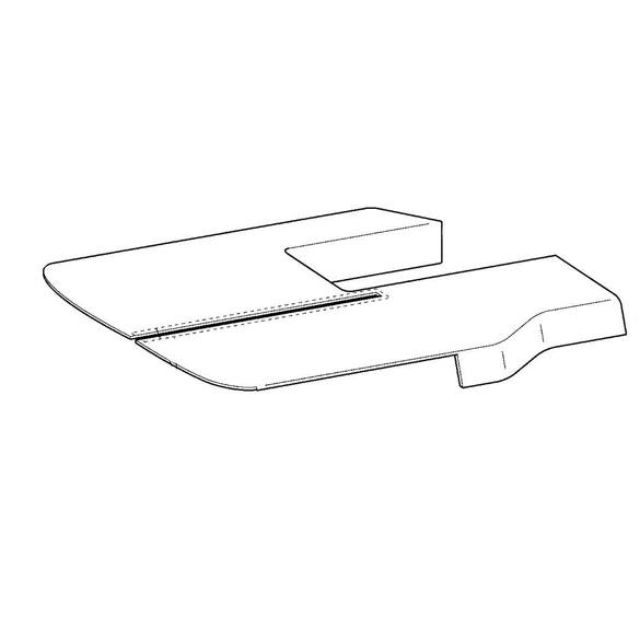 ES Main Cover Assembly, Brother #XA9793001
