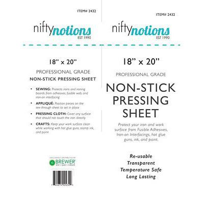 "Non-Stick Pressing Sheet 18""x 20"", Nifty Notions"